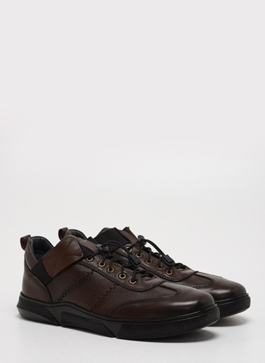 F By Fabrika Erkek Siyah Ayakkabı JUPUR Kahve